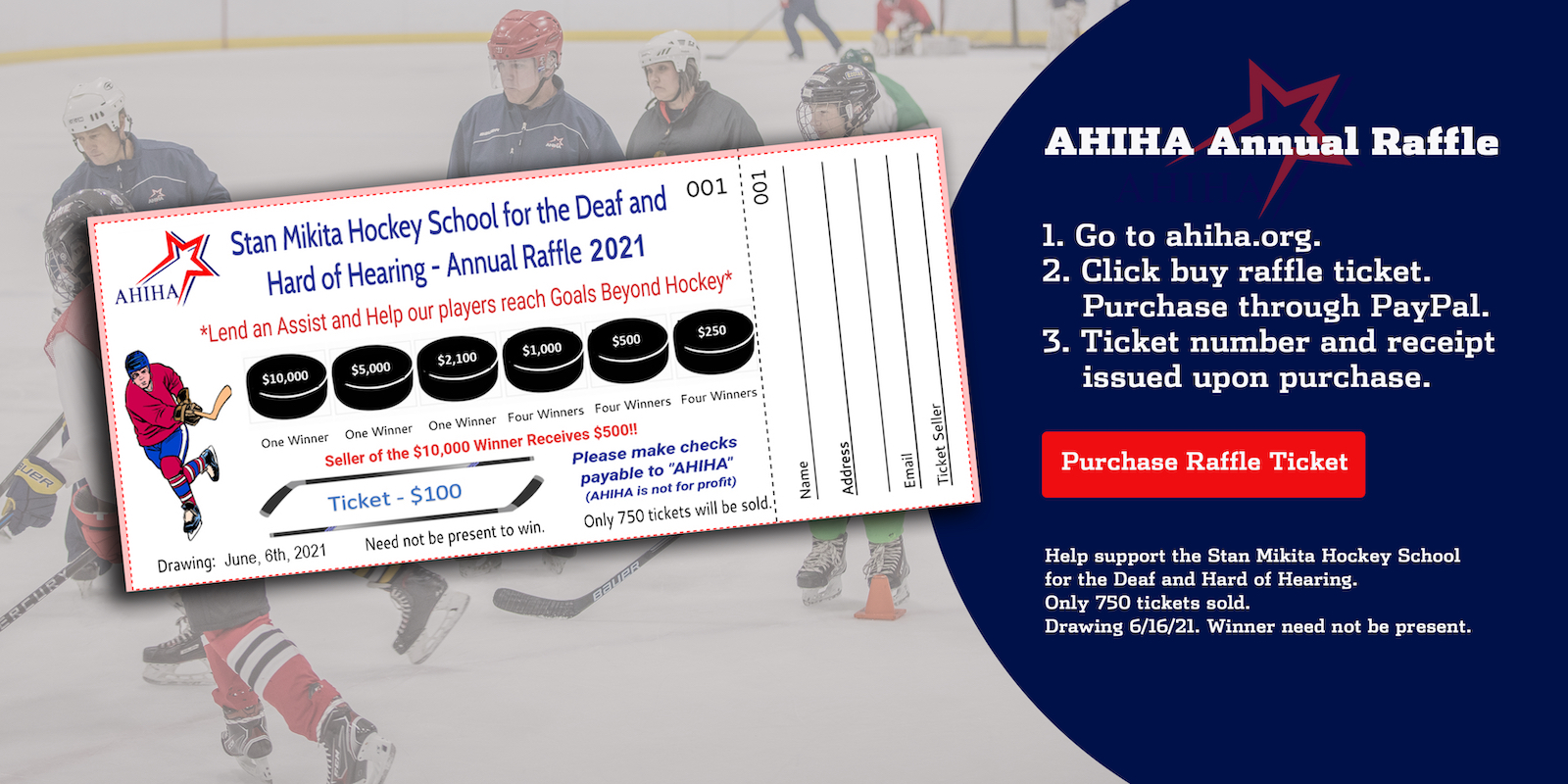 Annual Raffle Tickets are now on sale!